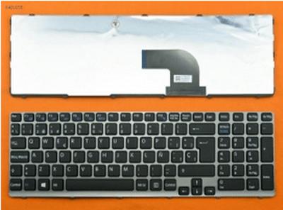 Bàn phím Laptop Sony SVE15 – Màu đen ( có đèn )