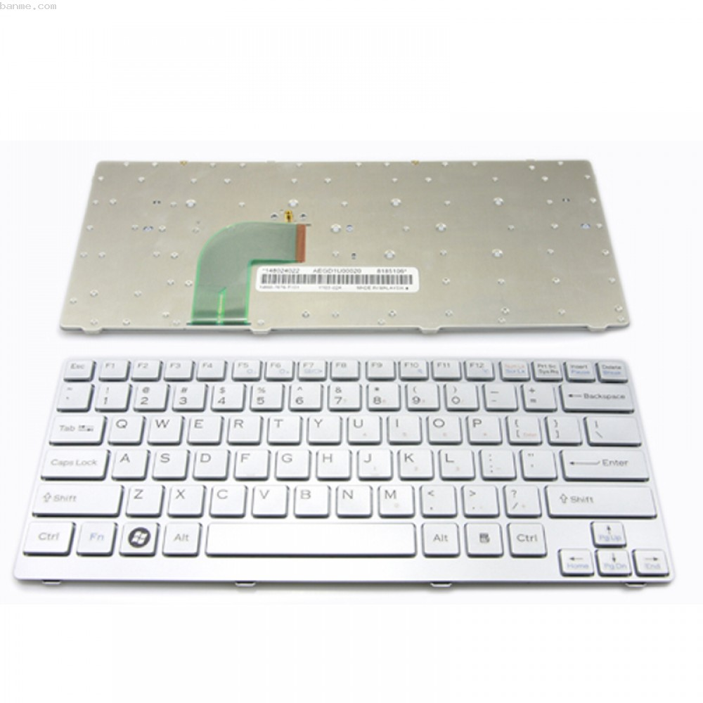 Bàn phím Laptop SVF14A – Màu trắng.