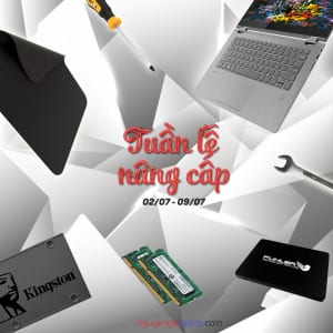 NÂNG CẤP RAM, SSD – ĐẾN NGAY NGUYỄN GIA LAPTOP.