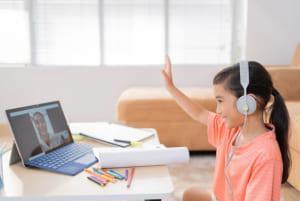 Bé học online – không lo hại mắt!
